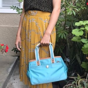 Light blue Coach bag